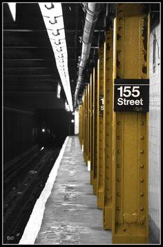 155th STREET SUBWAY STATION | WASHINGTON HEIGHTS / HARLEM | MANHATTAN | NEW YORK CITY | USA: *New York City Subway: IND Eighth Avenue Line*