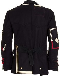 GREG LAUREN- I think this coat is sweet. If I had money pimpin would be easy!  RLR