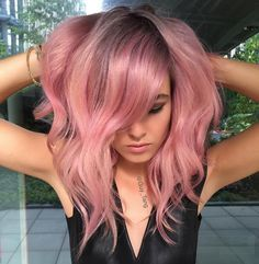 Hair Colorist Guy Tang is Releasing His Own Line of Vibrant, Pre-Mixed Shades Cabelo Rose Gold, Beautiful Hair Color, Dye My Hair, Grunge Hair, Gold Hair, Silver Hair, Balayage Hair, Ombre Hair, Pretty Hairstyles