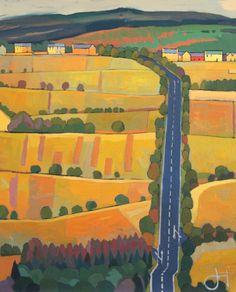 Straight Road to Longframlington   - Jim Edwards