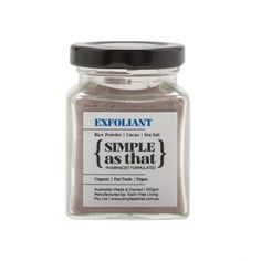 simple as that exfoliant 100g