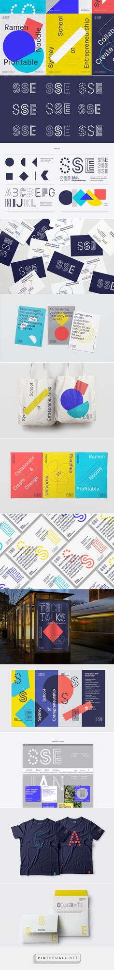 Sydney School of Entrepreneurship on Behance... - a grouped images picture - Pin Them All