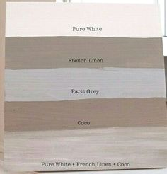 Annie Sloan chalk paint in Coco or French Linen for my China hutch Annie Sloan Chalk Paint Colors, Gray Chalk Paint, Annie Sloan Paints, Chalk Paint Furniture, Chalk Painting, Annie Sloan French Linen, Annie Sloan Paris Grey, Annie Sloan Old White, Painted China Cabinets
