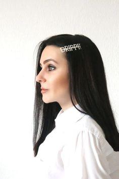 Πιαστρακι μαλλιων Drippin Hair Accessories, Crown, Jewelry, Fashion, Moda, Corona, Jewlery, Jewerly, Fashion Styles