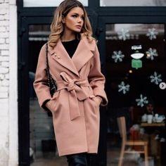 ae401662e4b С чем носить розовое пальто 2018 фото модные направления 7. Карина  Милевская · женская одежда