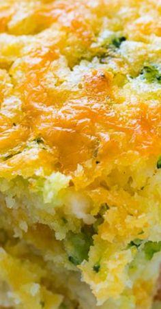 Cheesy Broccoli Cornbread