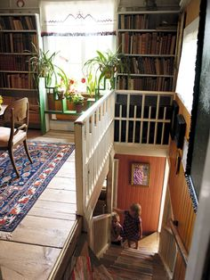 Home Interior Apartment The House Carl Larsson Fell In Love With 2 Attic Renovation, Attic Remodel, Halls, Attic Rooms, Attic House, Attic Apartment, Attic Bathroom, Decoration Design, Interior Exterior