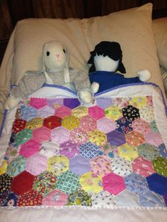 Hexi Doll Quilt