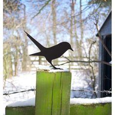 Early Bird Seeks Worm | Garden Lawn or Post | ODE by Designer Maker Jolyon Yates