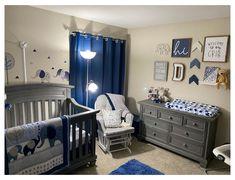 Baby Boy Nursery Themes, Baby Boy Room Decor, Baby Boy Rooms, Baby Boy Nurseries, Nursery Ideas, Room Ideas, Baby Bedroom, Baby Boys, Baby Blue Nursery