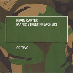 """For Sale - Manic Street Preachers Kevin Carter - CD2 UK  CD single (CD5 / 5"""") - See this and 250,000 other rare & vintage vinyl records, singles, LPs & CDs at http://eil.com"""
