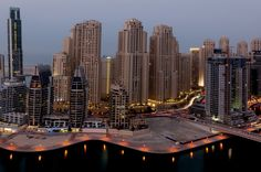 Thinking about forever, Dubai Marina. by Prashant Naik on 500px