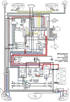 71 VW T3 wiring diagram Ruthie Pinterest Cars, Vw