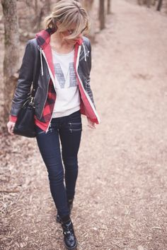 Layered casual look