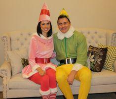Buddy the Elf and Jovi Halloween costumes