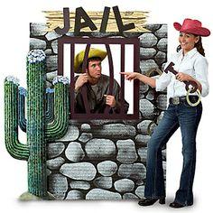 Wild Wild West Theme Party Jail Decoration!
