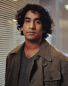 Naveen Andrews ~ which project? Looks like a screen capture.