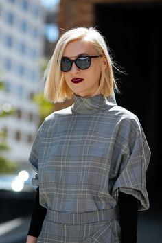"""The One Haircut Every New York """"It"""" Girl Is Getting For Fall #refinery29"""