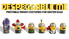 DespEGGable Me DIY Minion Costumes for Easter Eggs