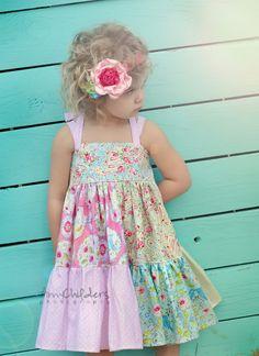 Enchanted GardenTwirl Dress Alternate | Love this dress.