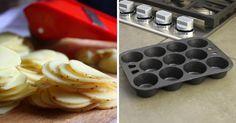 Vynikajúca aoriginálne jedlo zo zemiakov, ktoré si zamilujú predovšetkým vaše ratolesti. Skvele sa tiež hodí ako netradičná achutná príloha kmäsku. Vyskúšajte aj vy chrumkavé zemiakové veže pečené vo forme na muffiny.   Potrebujeme: 1 kg nových zemiakov  6-8 lyžíc …