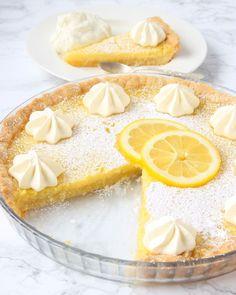 Frasig & krämig citronpaj