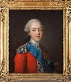 Prince Charles Philippe de France, Comte d'Artois, Duc d'Angoulême, de Berry et d'Auvergne (1757-1836).