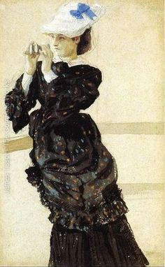 """Study for """"The Captain's Daughter I"""" 