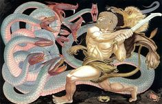 Image result for herakles hydra