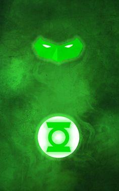 Minimalist Superhero Posters : Green Lantern
