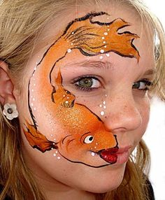 Face painting by Christina Davison