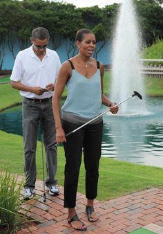 Michelle Obama's Casual Style   POPSUGAR Fashion