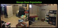 See for yourself what organizing and decluttering with Silver Lining Organizers LLC, Dayton, Ohio, can do with these before and after photos!