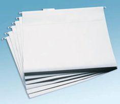 Cropper Hopper 12 x 12 Hanging File Folders (Clear - 6 pack) ($9.45)