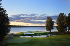 Ullna Golf. Hole 3. Stockholm Sweden