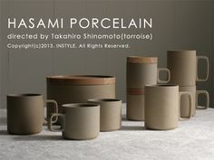 HASAMI Porcelain, Japan
