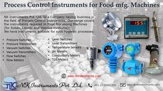 Process Control Instruments for Food Manufacturer Machines  http://www.nkinstruments.com