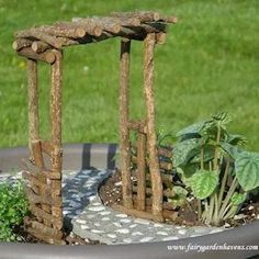 Get crafty this summer and make your own whimsical fairy garden with these creative DIY fairy garden ideas as inspiration. Since it's such a fun and easy activity, it makes a great summer craft idea t Garden Crafts, Garden Art, Garden Design, Fairy Garden Furniture, Fairy Garden Houses, Fairy Gardens, Diy Fairy Garden, Fairy Garden Doors, Easy Garden