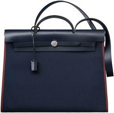 Hermes-Herbag-Zip-Bag-in-canvas-and-Cowhide from Brag My Bag 2016