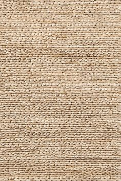 This chic, organic rug from Dash and Albert, in a natural hue, is made from jute, and is attractive option for any room. Dash and Albert Natural Jute Woven Rug Ships Free from Lavender Fields. Jute Rug, Woven Rug, Jute Fabric, Motif Art Deco, Affordable Area Rugs, Solid Rugs, Dash And Albert, Beige Aesthetic, Natural Rug