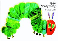 Rupsje Nooitgenoeg - Rupsje Nooitgenoeg Eric Carle, Book Worms, Coloring Books, Colouring, Fictional Characters, Preschool Ideas, Yoga, Memories, Products