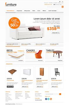 #Magento #Furniture Store theme. $180. Magento is open-source software that offers flexible, feature-rich e-commerce solutions that address a wide range of business sizes, needs and budgets.
