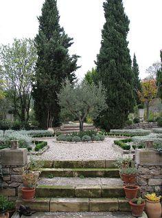 Mediterranean Garden in Herault, Languedoc-Roussillon, France