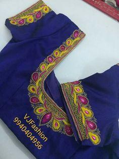 Cutwork Blouse Designs, Wedding Saree Blouse Designs, Pattu Saree Blouse Designs, Embroidery Neck Designs, Simple Blouse Designs, Cut Work Blouse, Hand Work Blouse Design, South Indian Blouse Designs, Chudidhar Neck Designs