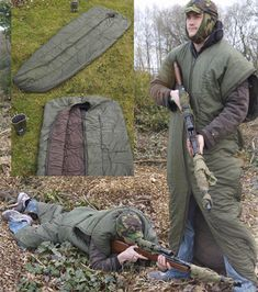 Sniper Sleeping Bag - Perfect for a late night campfire or telescope session