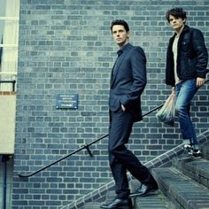 A Discovery Of Witches Mathew Goode and Edward Bluemel Witch Tv Series, Book Series, Mathew Goode, Famous In Love, His Dark Materials, A Discovery Of Witches, All Souls, Jane The Virgin, Character Costumes