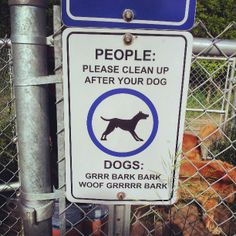 48 best dog store images on pinterest grooming salon dog store the city of barrie has this funny sign in the dog park solutioingenieria Gallery