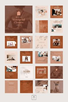 Bring harmony to your brand with the Yoga Social Feed Template, a divine set of 30 custom presets designed to give your social feeds a calming, earthy aesthetic. This robust collection of fully-customizable Canva templates allows you to easily create on-brand social content to drive traffic, increase engagement, and promote tranquility. Pilates Machine, Instagram Feed, Instagram Posts, Instagram Post Template, Calming, Lightroom Presets, Your Image, Earthy, Branding