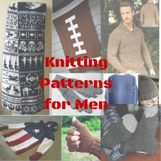knitting for men pattern round-up