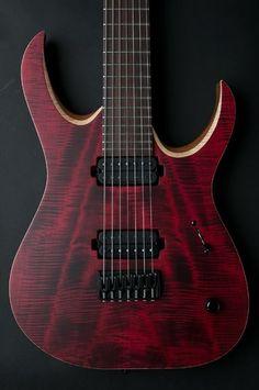 Mayones Guitars Basses Duvell guitars